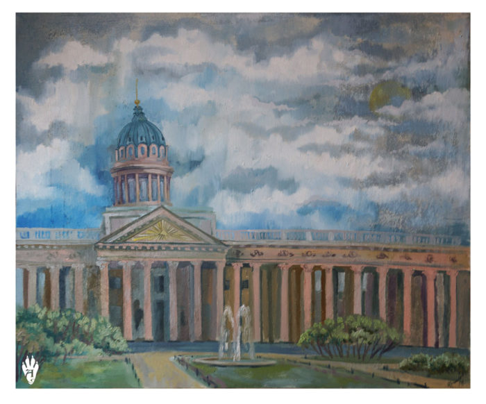 "Kazan Cathedral. ""The Air of Petersburg"" Ekaterina Frolova"