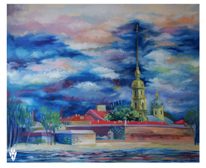 "Peter-Pavel's Fortress. ""The Air of Petersburg"" Ekaterina Frolova"