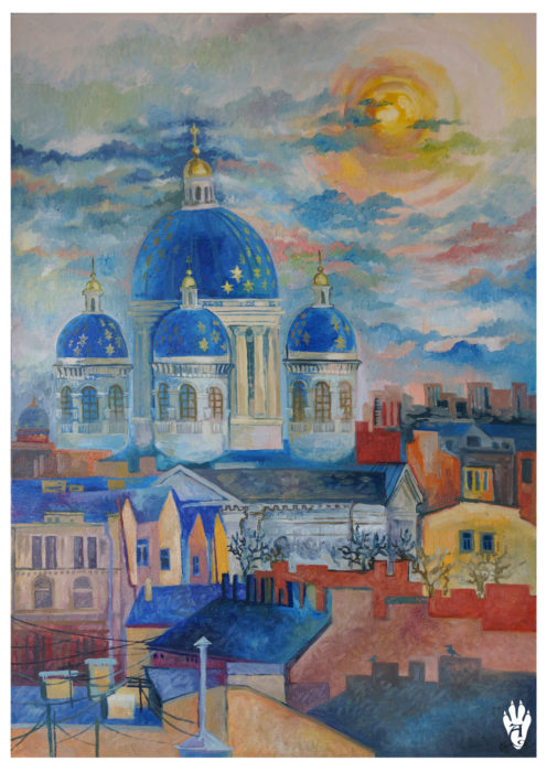 "Trinity Cathedral. ""The Air of Petersburg"" Ekaterina Frolova"