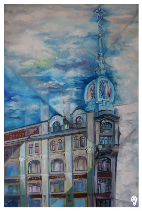 "The building of Singer. ""The Air of Petersburg"" Ekaterina Frolova"